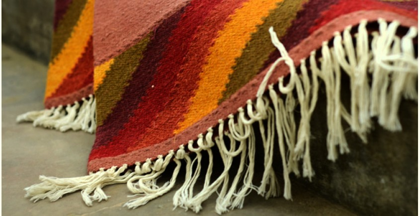 Woolen rugs ~ Lanes of Paddy(4X6)