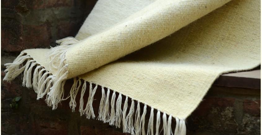 Woolen rugs ~ Lanes of Maize (3X3)