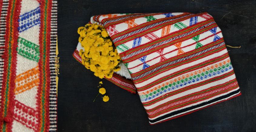Unni ☕ Handwoven Woolen Shawl . 14