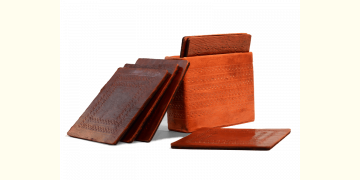 Coaster set ~ Leather