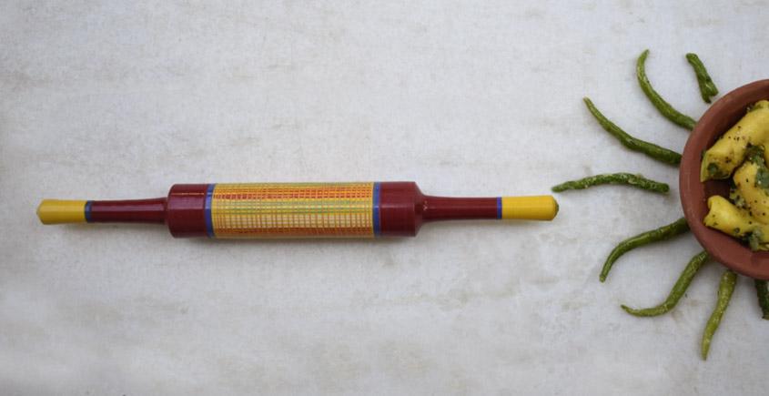 Rangavali ✼ Kutch rolling pin ✼ { 13 }