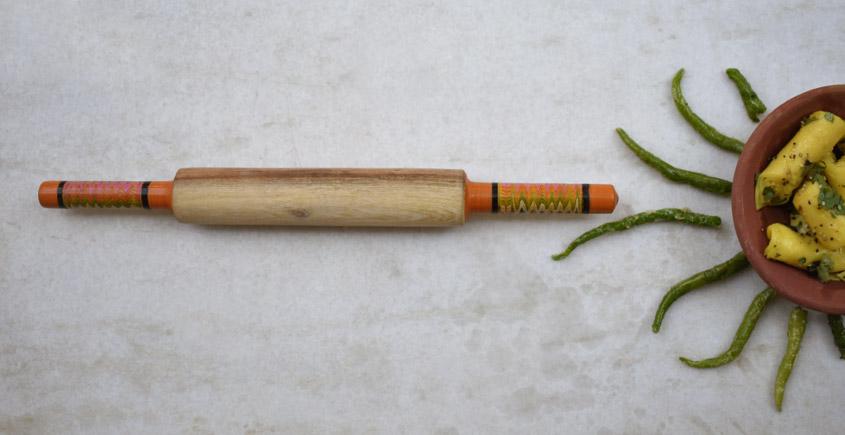 Rangavali ✼ Kutch rolling pin ✼ { 14 }