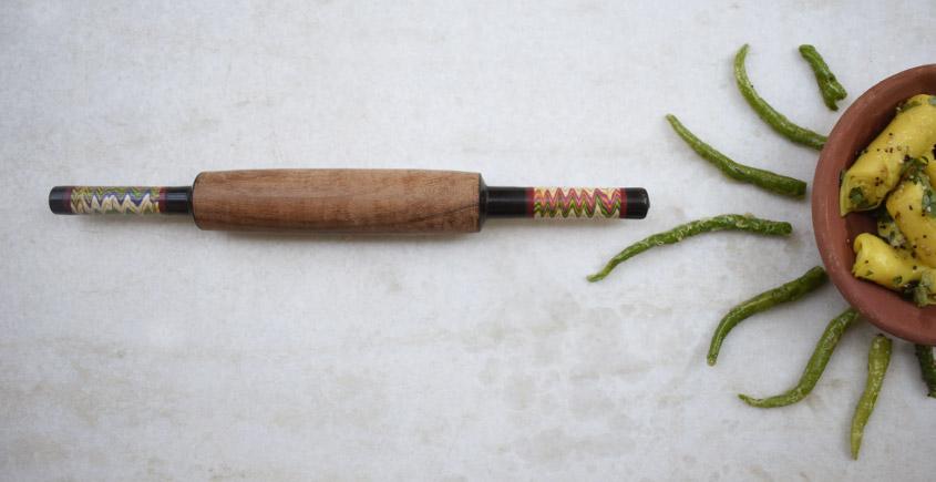 Rangavali ✼ Kutch rolling pin ✼ { 16 }