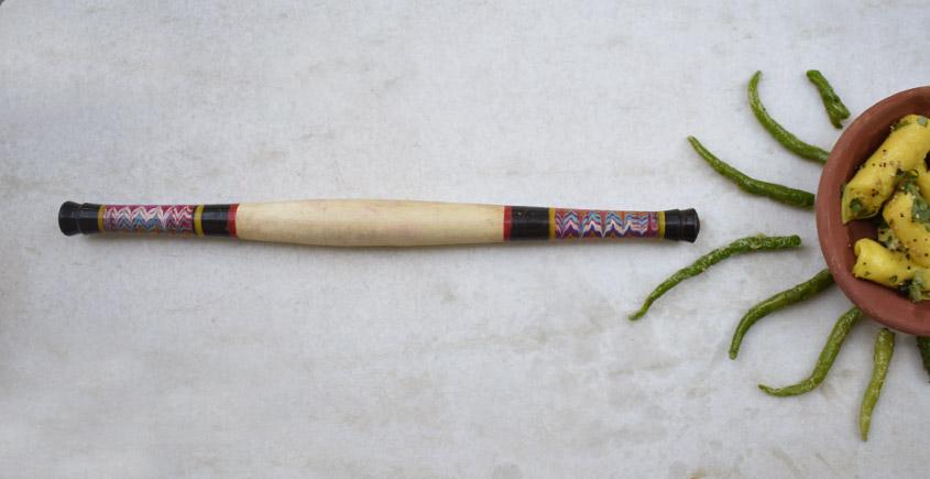 Rangavali ✼ Kutch rolling pin ✼ { 20 }