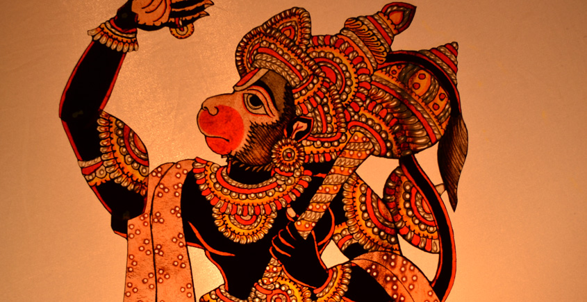 Leather Puppets ✪ Hanuman { 7 }