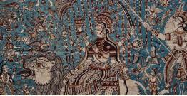 """Sacred cloth of the Goddess - 1 ( 46"""" X 30"""" )"""