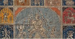 """Sacred cloth of the Goddess - 4 ( 36"""" X 26"""" )"""