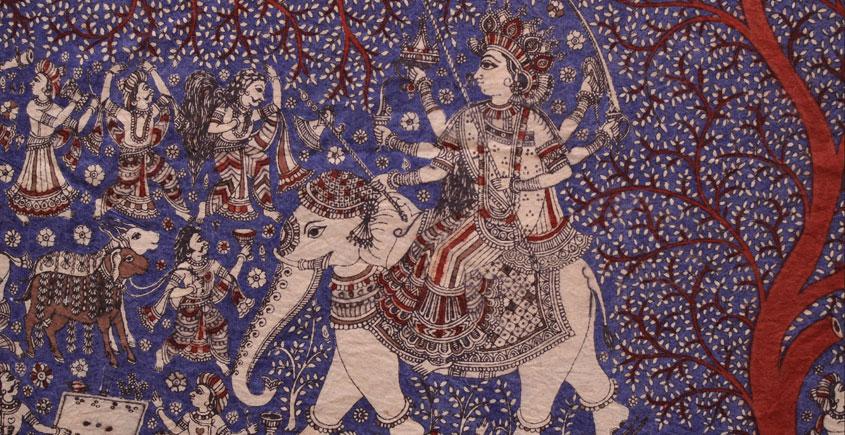 Sacred cloth of the Goddess - 5 ( 27 X 22 )