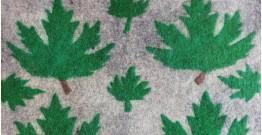 Kashmiri Namda ~ Chinar leaves (3' X 2'3'')