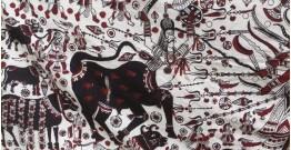 Sacred cloth of the Goddess ~ Maha Shakti (177'' X 78'')