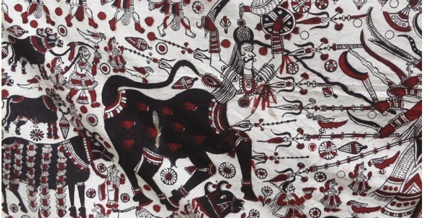 Sacred cloth of the Goddess ~ Maha Shakti (177 X 78)