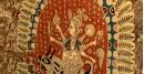 Sacred cloth of the Goddess- Maledi mata and Bahuchara mata ( 45X57 )