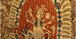 "Sacred cloth of the Goddess- Maledi mata and Bahuchara mata ( 45""X57"" )"