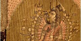 """Sacred cloth of the Goddess- Vishat mata ( 64"""" X41"""" )"""