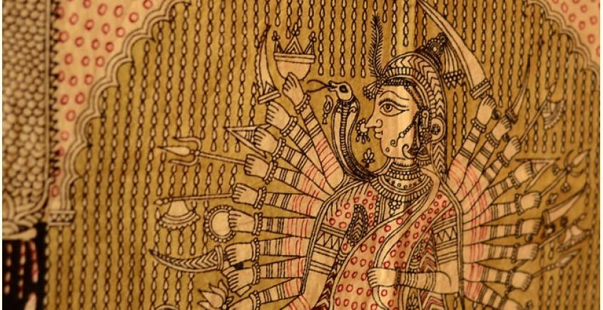 Sacred cloth of the Goddess- Vishat mata ( 64X41 )