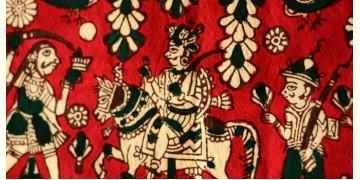 Sacred cloth of the Goddess- Veer maharaj (25''X15'')