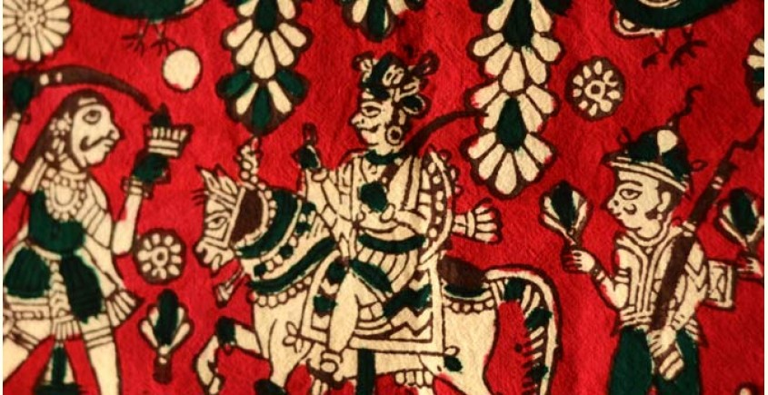 Sacred cloth of the Goddess- Veer maharaj (25X15)