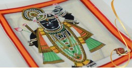 Miniature painting ~ Srinath ji ~ { 1 }