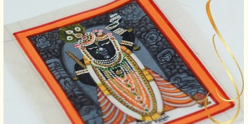 Miniature painting ~ Srinath ji ~ { 10 }