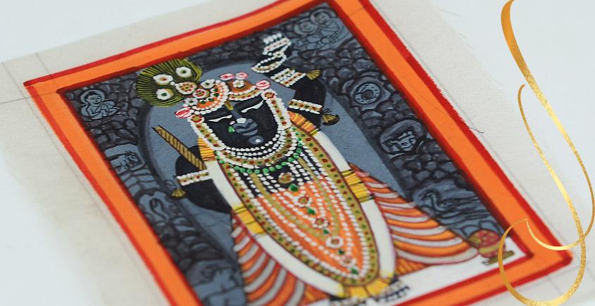 Miniature painting ~ Srinath ji ~ { 10 }