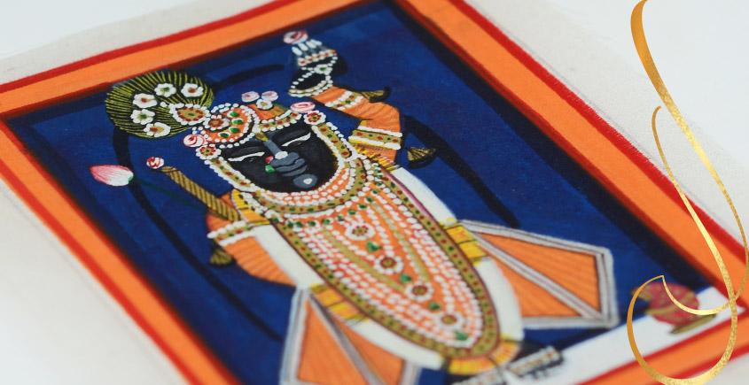 Miniature painting ~ Srinath ji ~ { 11 }