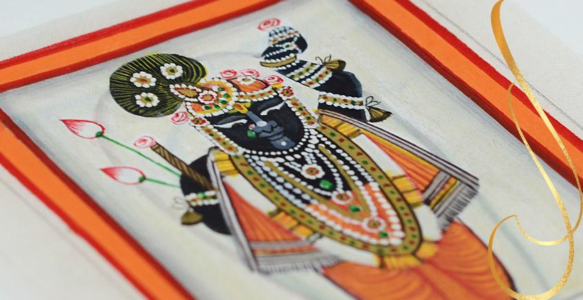 Miniature painting ~ Srinath ji ~ { 12 }