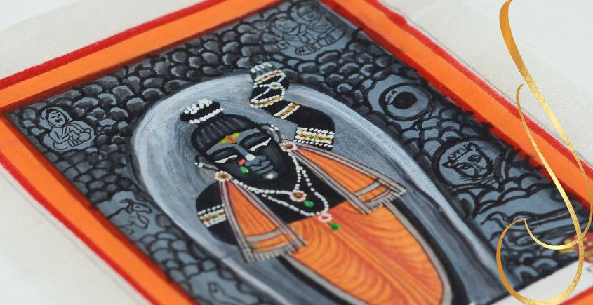 Miniature painting ~ Srinath ji ~ { 14 }