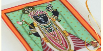 Miniature painting ~ Srinath ji ~ { 16 }