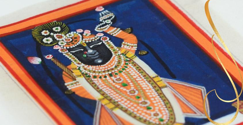 Miniature painting ~ Srinath ji ~ { 17 }