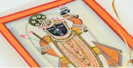 Miniature painting ~ Srinath ji ~ { 19 }