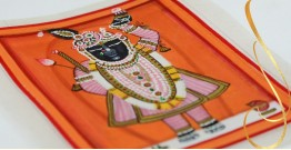 Miniature painting ~ Srinath ji ~ { 2 }