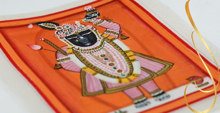 Miniature painting ~ Srinath ji ~ { 2 }