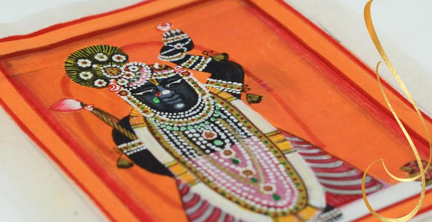 Miniature painting ~ Srinath ji ~ { 21 }