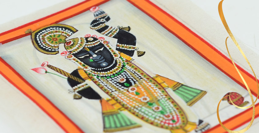 Miniature painting ~ Srinath ji ~ { 22 }