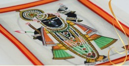 Miniature painting ~ Srinath ji ~ { 3 }