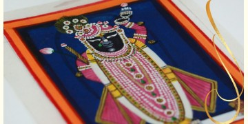 Miniature painting ~ Srinath ji ~ { 4 }