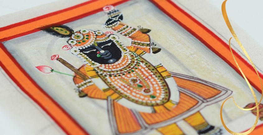 Miniature painting ~ Srinath ji ~ { 5 }