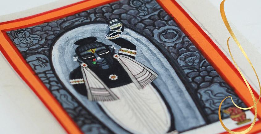 Miniature painting ~ Srinath ji ~ { 7 }