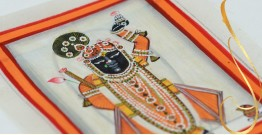 Miniature painting ~ Srinath ji ~ { 8 }