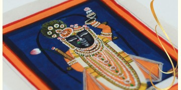 Miniature painting ~ Srinath ji ~ { 9 }