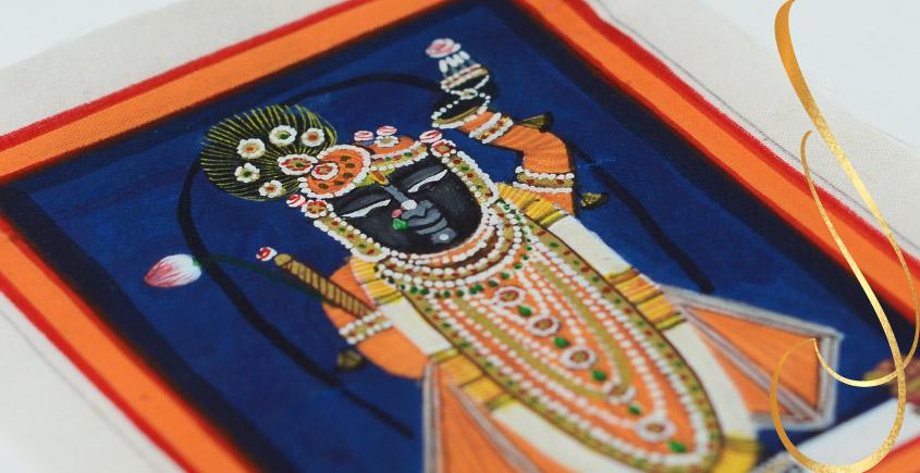 Miniature painting ~ Srinath ji ~ { 9 }