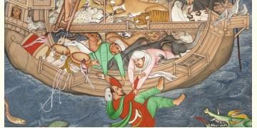 Miniature painting ~ Mughal Voyage