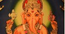 Hand Painted ~ Shri Ganesh ji (22X18 inch)