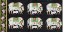 Pichwai Painting ~ Silver Cows & lotus