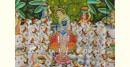 Pichwai Painting ~ Darshan Shrinath ji  (6 X 4 feet)