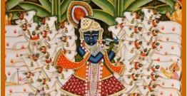 Pichwai Painting ~ Gopashtmi Shrinath ji  (5.5 X 3.6 feet)