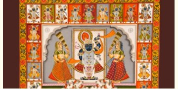 Shrinath ji  ~ 24 Darshan (5 X 4 feet)