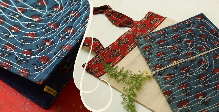 Pothi Folder + Bag - A