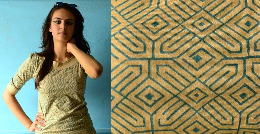Green Geometries on clay ~ Gaamthi tshirt