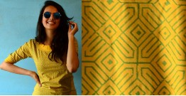 Geometries on yellow ~ Gaamthi tshirt